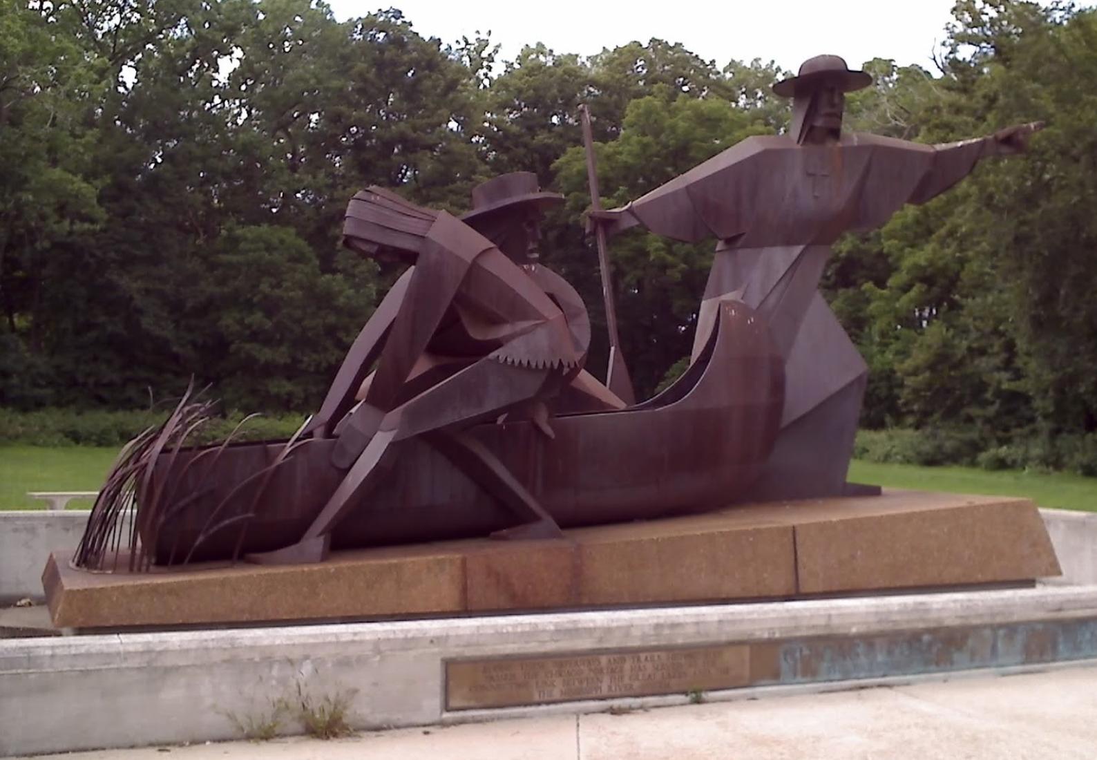 Chicago Portage Sculpture