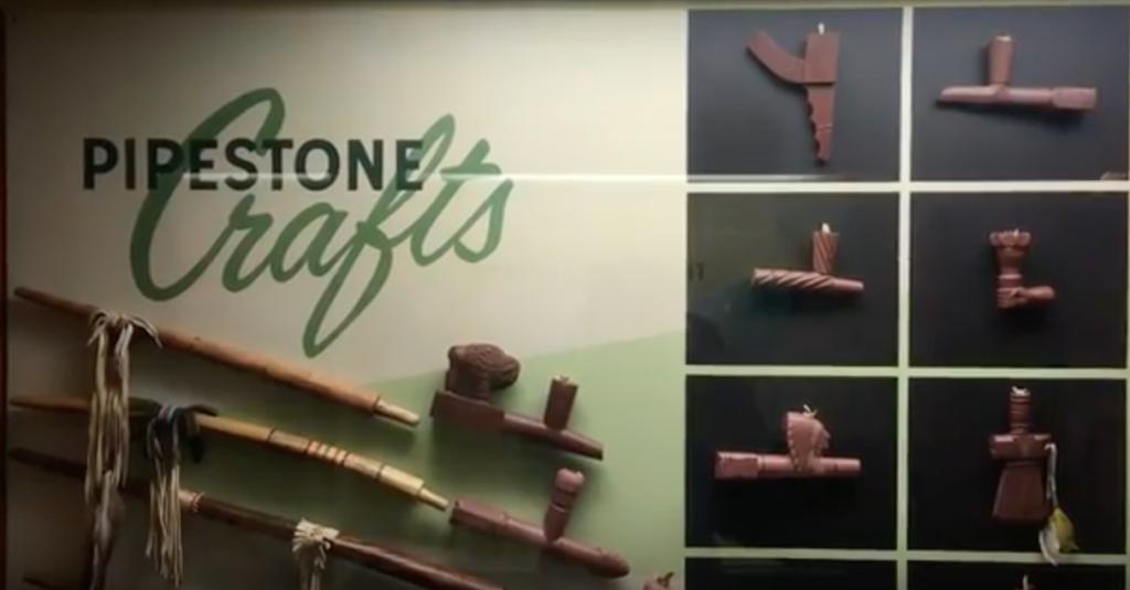 Pipestone Pipes