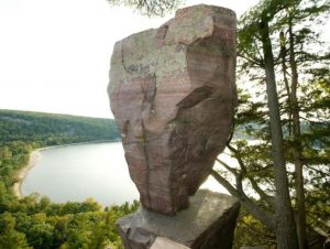 Balanced Rock Devils Lake