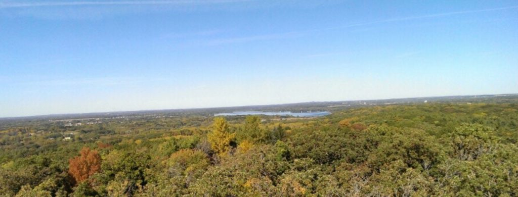 Lapham Peak View